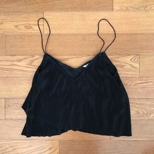 Urban outfitters thin strap pleated cami